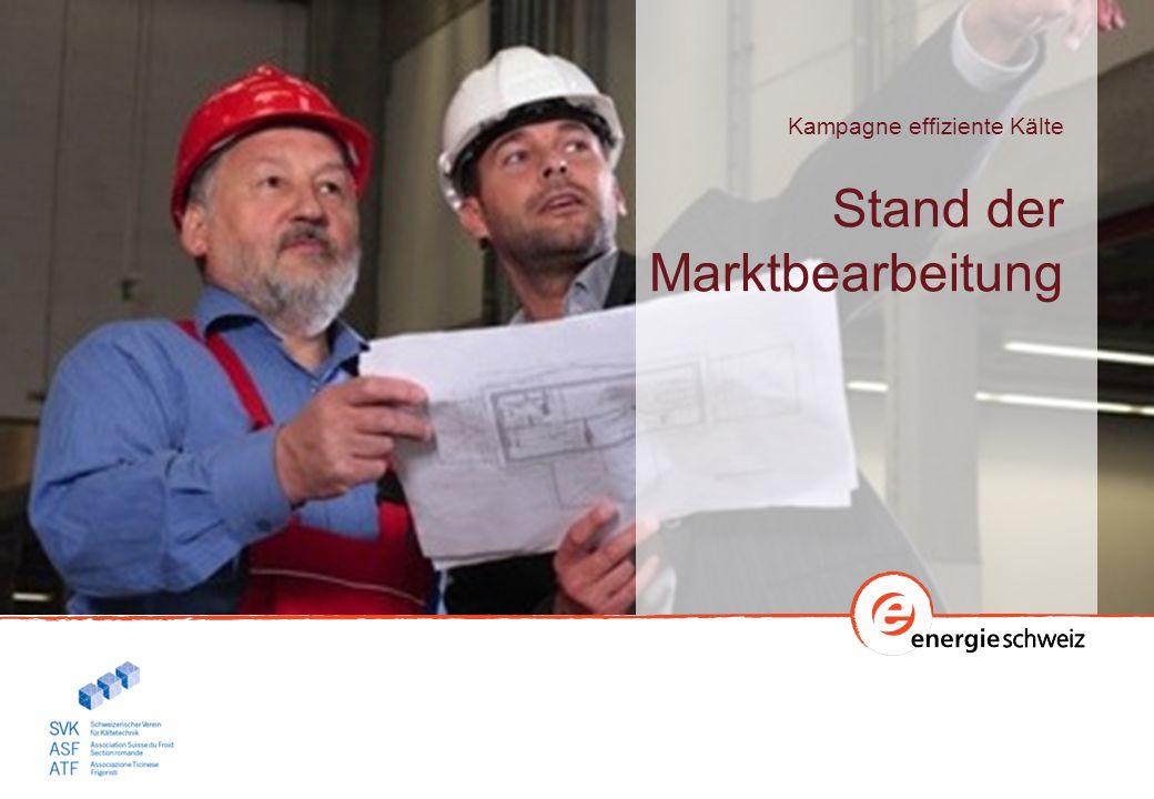 Schwerpunkte der Marktbearbeitung Fachleute und Kunden befähigen (Push & Pull) effiziente Lösung PushPull Einsatz der Mittel der Kampagne für die Marktbearbeitung Push: 50% (60 kFr.) Pull: 50% (60 kFr.) Fachleute Sensibilisierung und Befähigung > Fachleute bieten effiziente Lösungen an Kunden Sensibilisierung und Befähigung > Kunden verlangen effiziente Lösungen