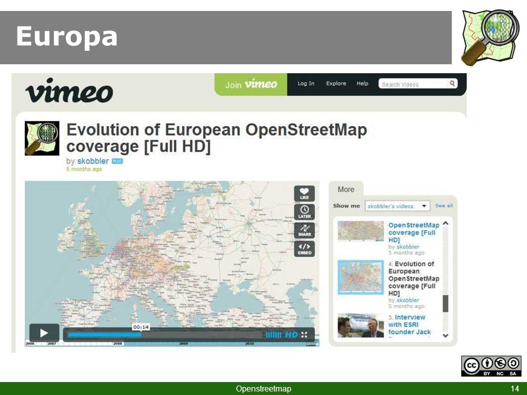 Europa Openstreetmap 14