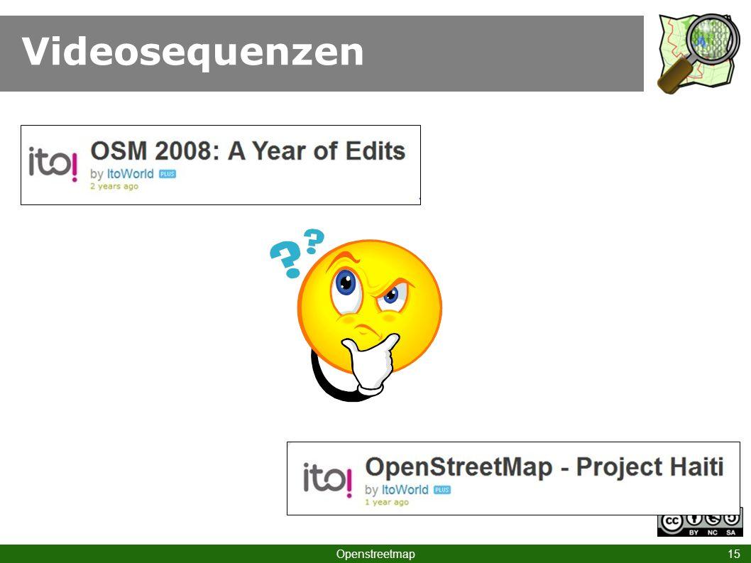 Videosequenzen Openstreetmap 15
