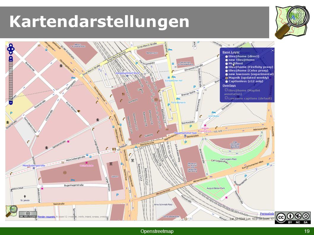 Kartendarstellungen Openstreetmap 19
