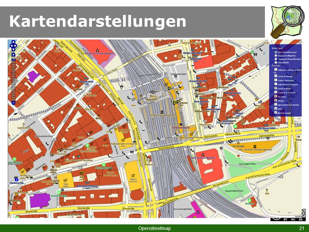 Kartendarstellungen Openstreetmap 21