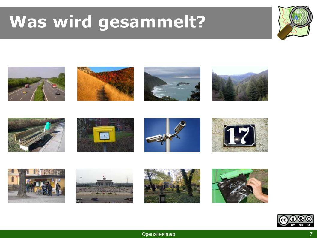 … nur bei OSM! Openstreetmap 18 Zoo Berlin
