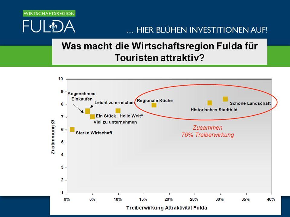 Was macht die Wirtschaftsregion Fulda für Touristen attraktiv?