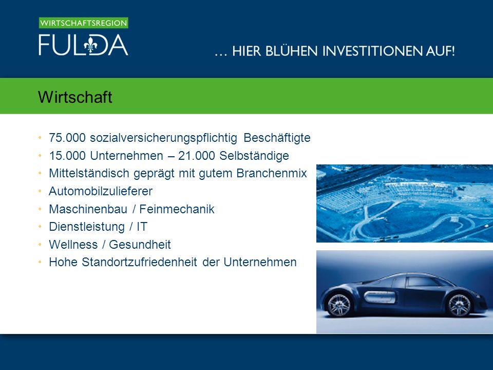 Was macht die Wirtschaftsregion Fulda für Unternehmen attraktiv?