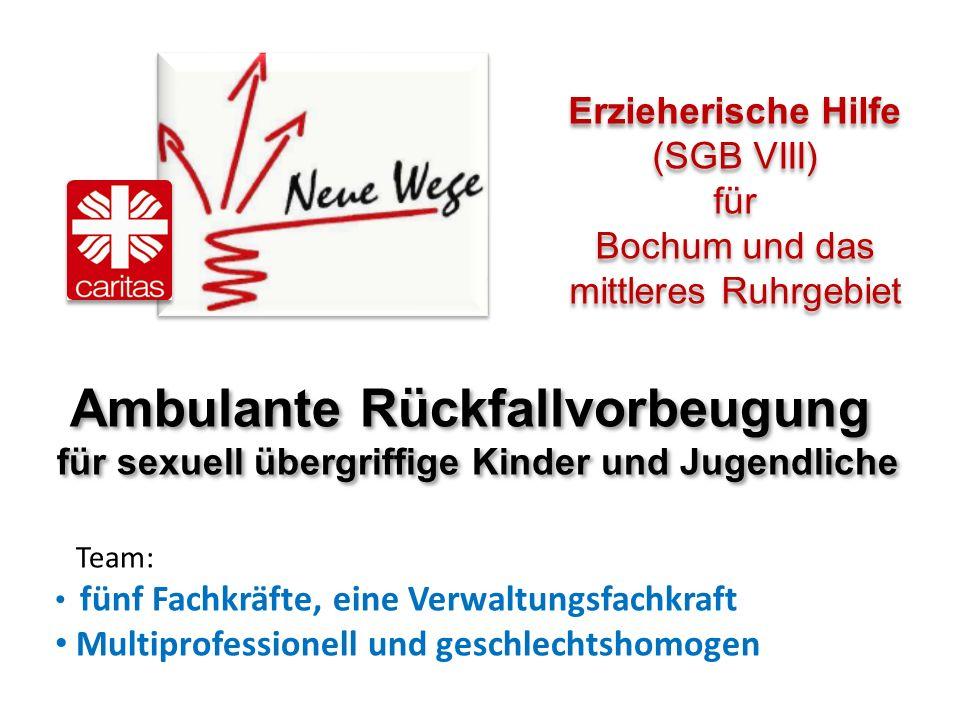 BocKooperation von und Therapie (Bochumer Modell) Ambulante Rückfallvorbeugung für sexuell übergriffige Kinder und Jugendliche Ambulante Rückfallvorbe