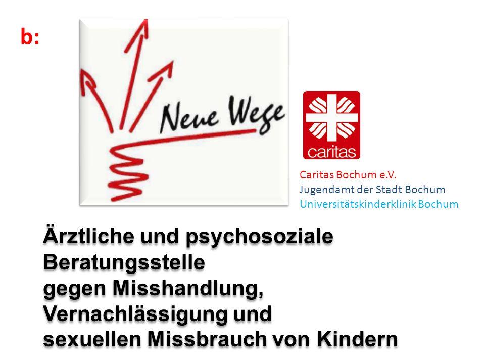 BocKooperation von und Therapie (Bochumer Modell) Caritas Bochum e.V. Jugendamt der Stadt Bochum Universitätskinderklinik Bochum Ärztliche und psychos