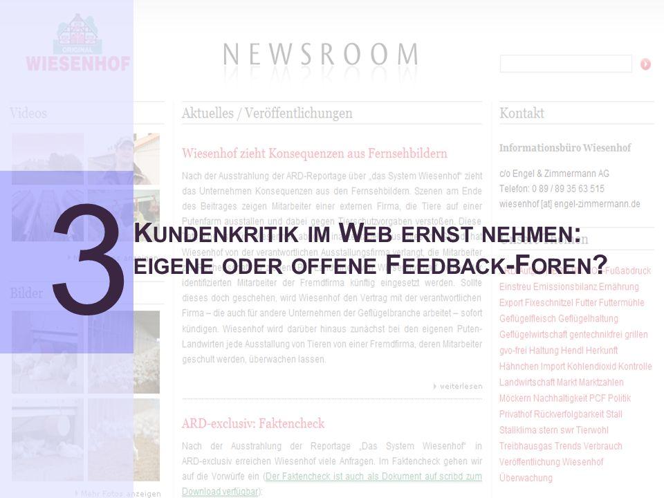12 Verlagert sich das Kundenmanagement ins Web Social CRM ForumDr.