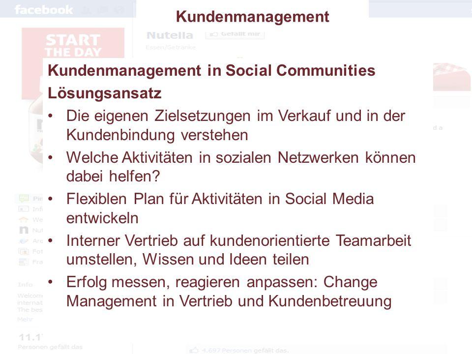 Verlagert sich das Kundenmanagement ins Web?Social CRM ForumDr.