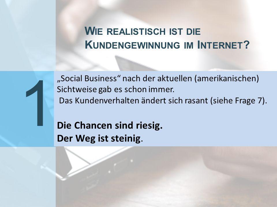 8 Verlagert sich das Kundenmanagement ins Web Social CRM ForumDr.