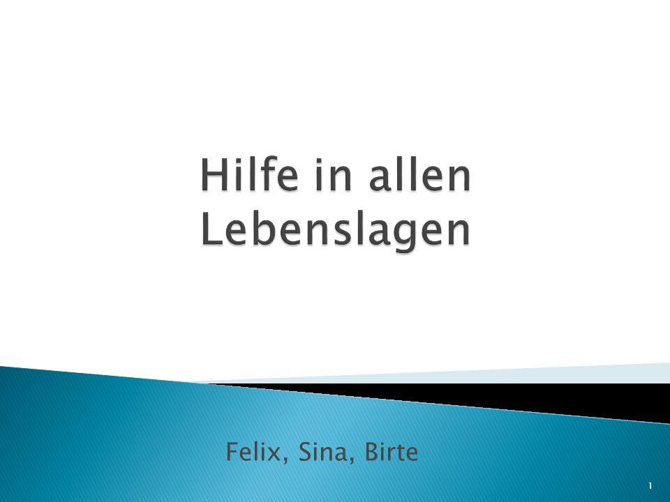 Felix, Sina, Birte 1