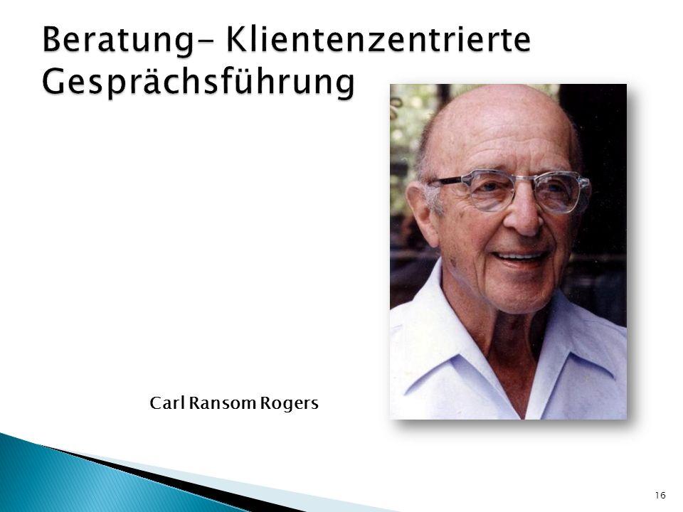 Carl Ransom Rogers 16