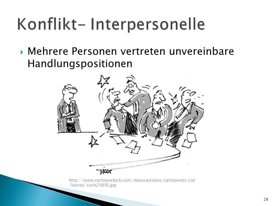 Mehrere Personen vertreten unvereinbare Handlungspositionen http://www.cartoonstock.com/newscartoons/cartoonists/cwl /lowres/cwln2569l.jpg 28