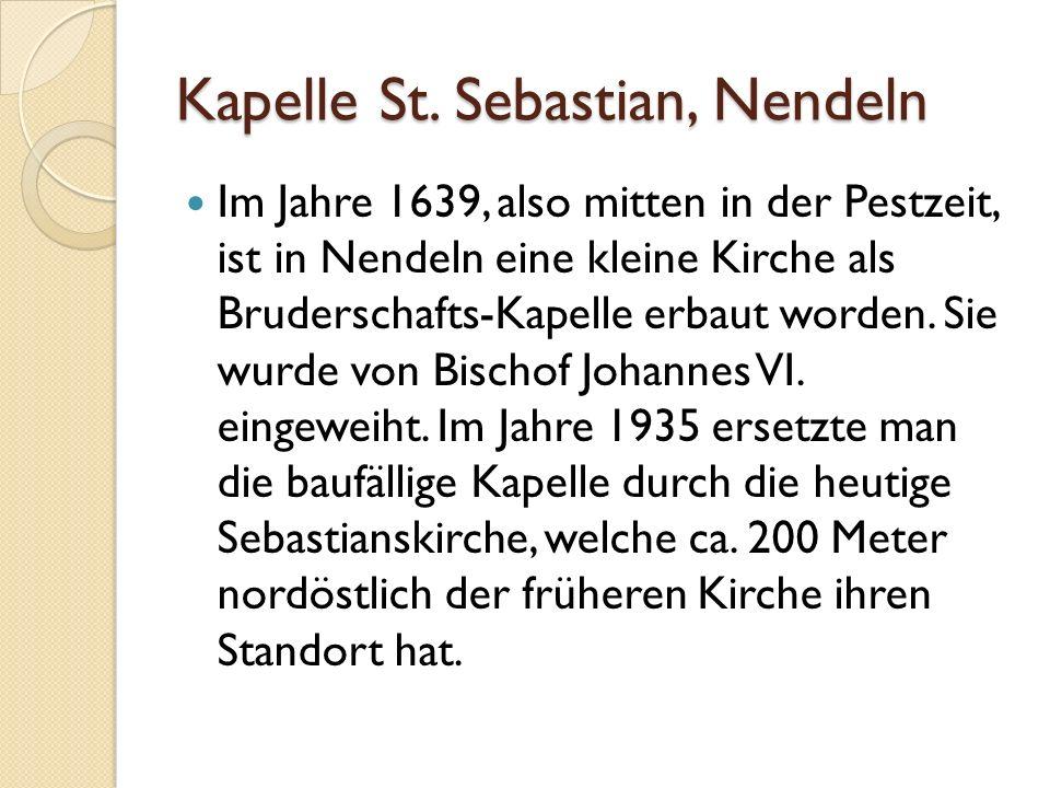 Kapelle St.