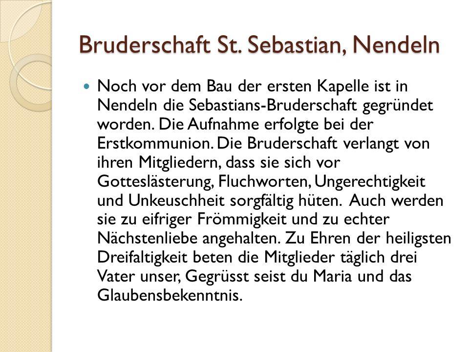 Bruderschaft St.