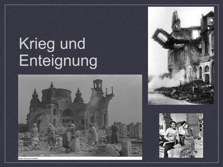 Krieg und Enteignung
