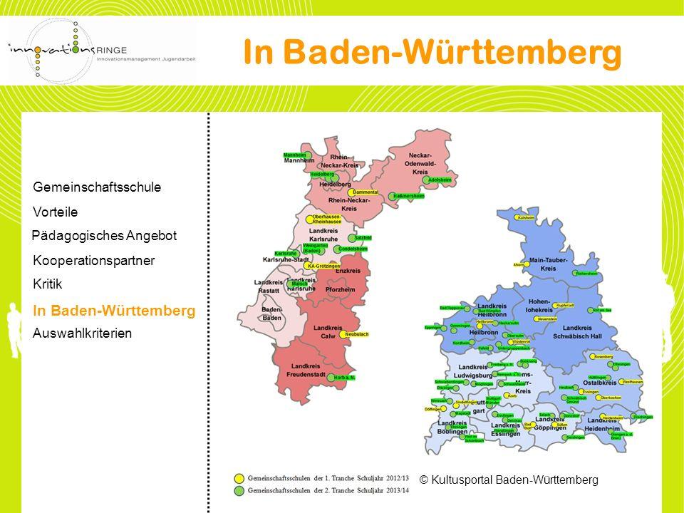 © Kultusportal Baden-Württemberg In Baden-Württemberg Gemeinschaftsschule Vorteile Pädagogisches Angebot Kooperationspartner Kritik In Baden-Württembe