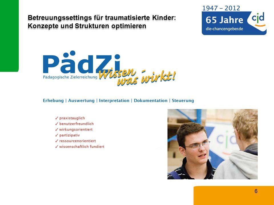 Betreuungssettings für traumatisierte Kinder: Konzepte und Strukturen optimieren 6