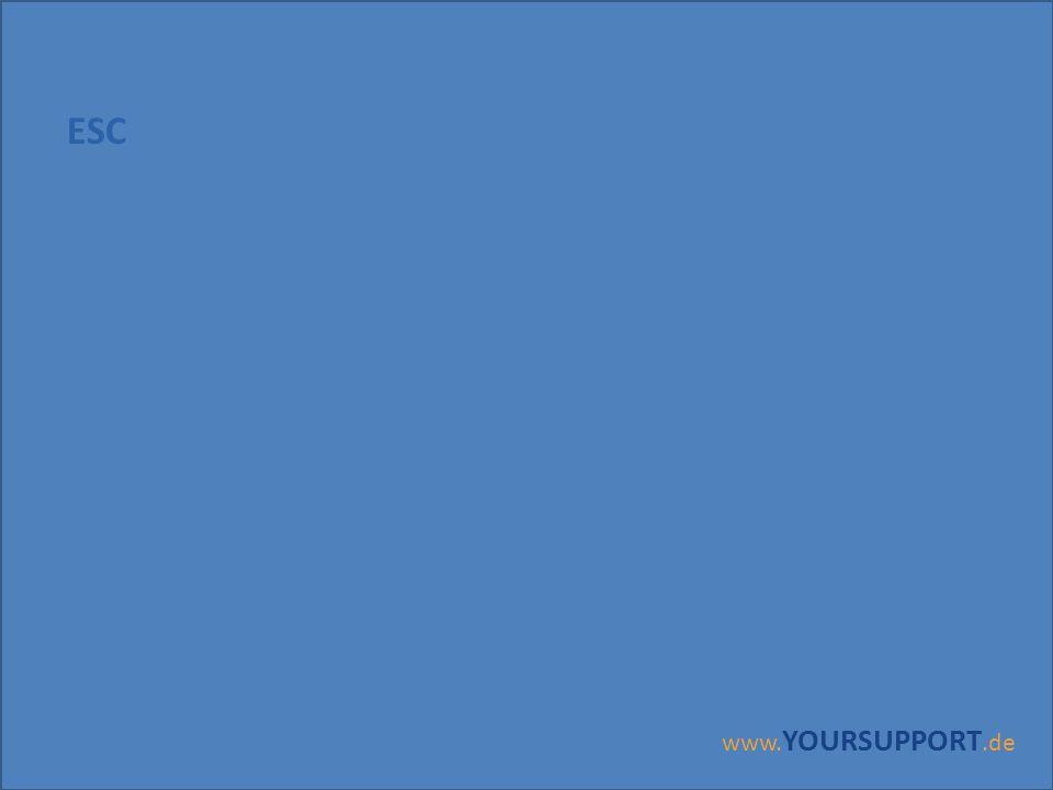 www. YOURSUPPORT.de ESC