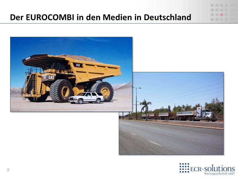 Der EUROCOMBI in den Medien in Deutschland 2