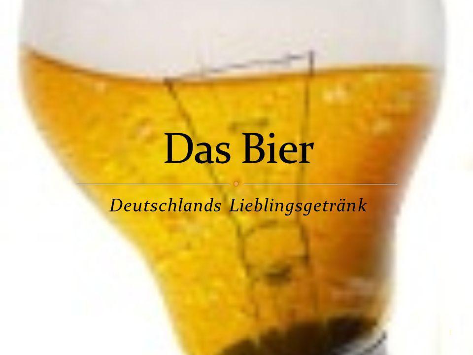 Deutschlands Lieblingsgetränk 1