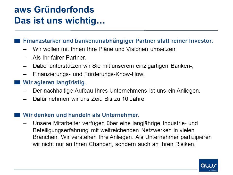 Finanzstarker und bankenunabhängiger Partner statt reiner Investor. –Wir wollen mit Ihnen Ihre Pläne und Visionen umsetzen. –Als Ihr fairer Partner. –