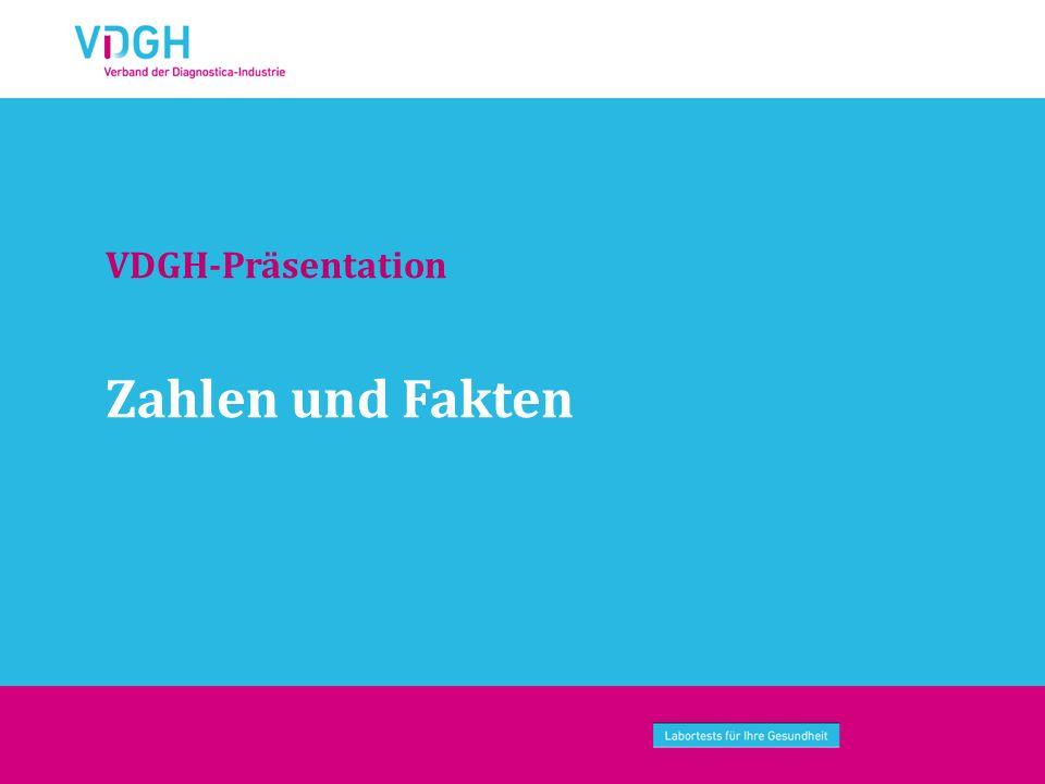 Zahlen und Fakten VDGH-Präsentation