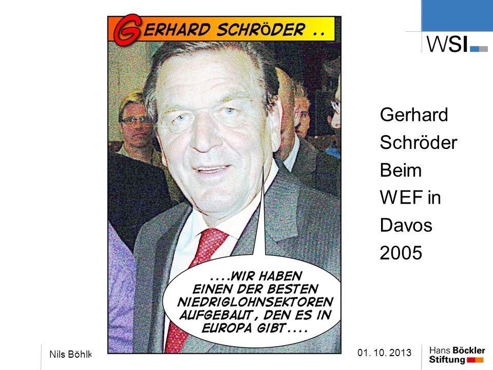 Gerhard Schröder Beim WEF in Davos 2005 01. 10. 2013 Nils Böhlke