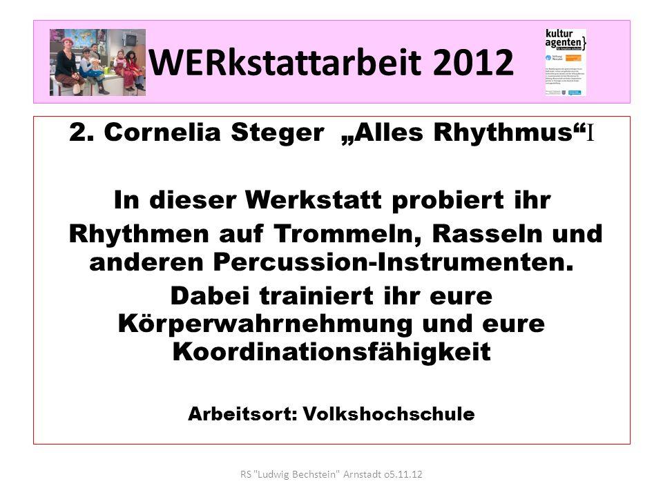 WERkstattarbeit 2012 3.Bernd Kantreiter Alles Töne Achtung Technikfreaks.
