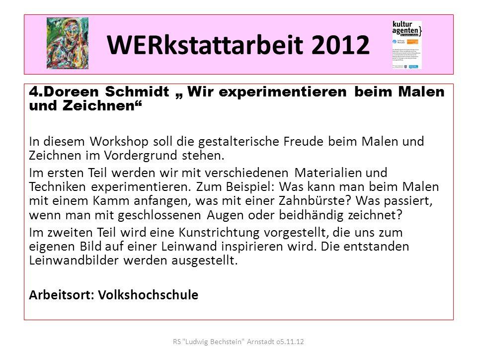 WERkstattarbeit 2012 5.Anke Engelmann Alles kleine Autoren Die Sprache ist mein Handwerkszeug - und weit mehr.