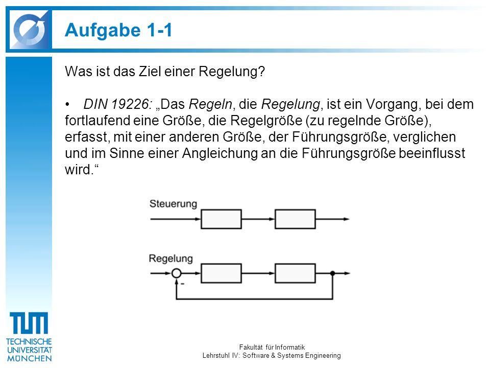 Aufgabe 6 Welche Probleme treten bei der ausschließlichen Verwendung von hardwarenaher Sprachen zu Programmierung von Reglern auf.