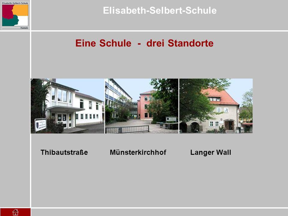 Elisabeth-Selbert-Schule Eine Schule - drei Standorte Thibautstraße Münsterkirchhof Langer Wall