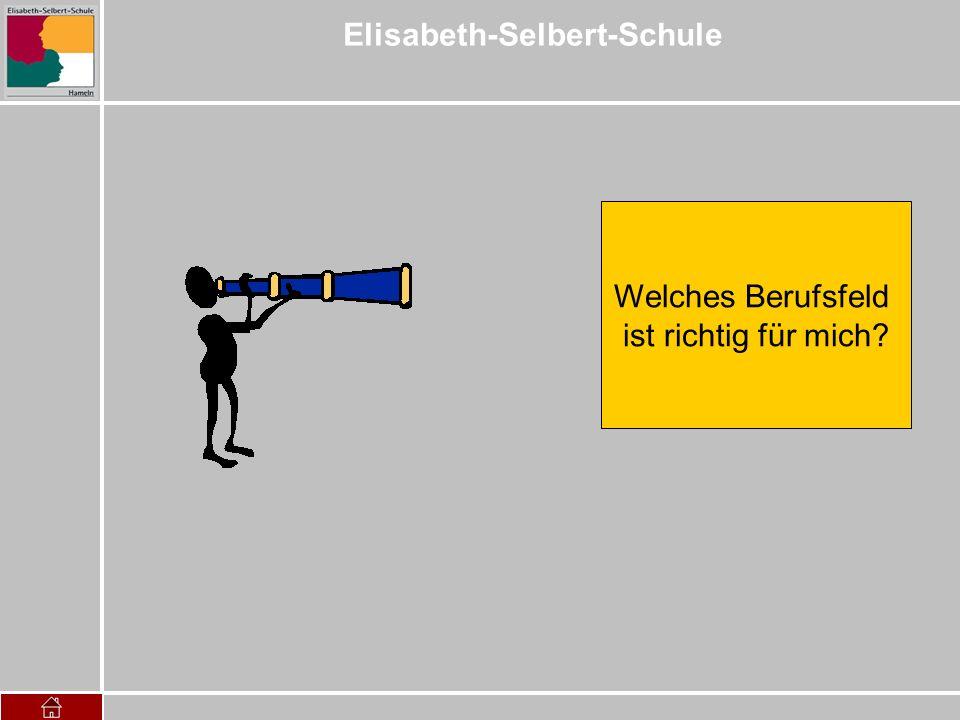 Elisabeth-Selbert-Schule Welches Berufsfeld ist richtig für mich?