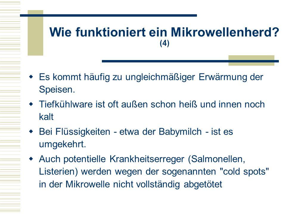 Wie funktioniert ein Mikrowellenherd? (5)