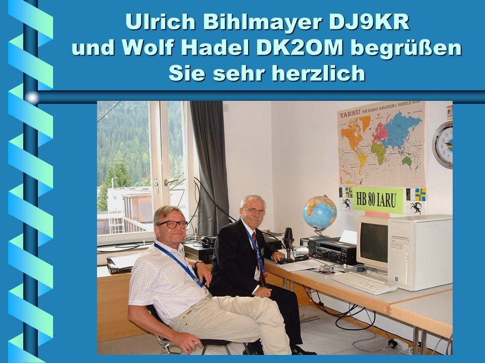 Homepage der Bandwacht des DARC links: IARU-1 MONITORING SYSTEM Klicken Sie auf dem RollbalkenImportant Links an.
