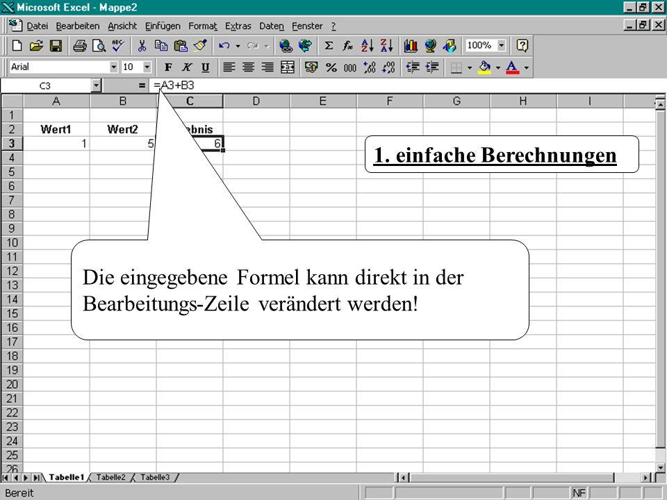 Löse jetzt die folgende Übung, indem du den Link schueler_teilsummen.xls schueler_teilsummen.xls anklickst und in der sich öffnenden Excel-Mappe die fehlenden Summen berechnest.