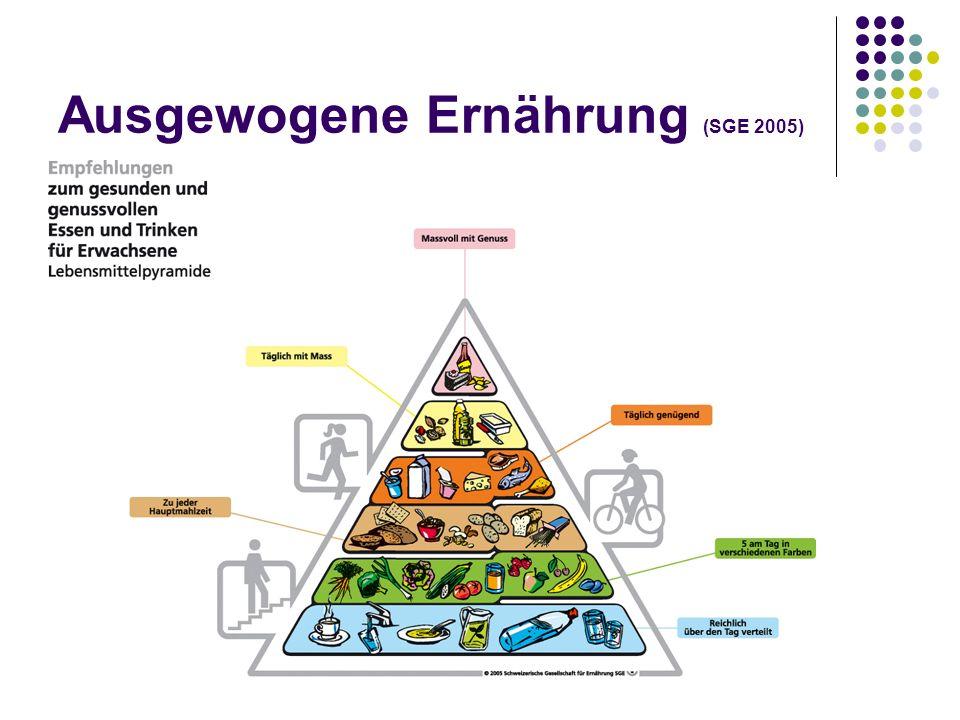 Ausgewogene Ernährung (SGE 2005)