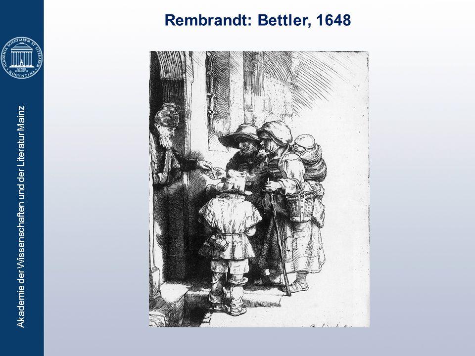Akademie der Wissenschaften und der Literatur Mainz Rembrandt: Bettler, 1648