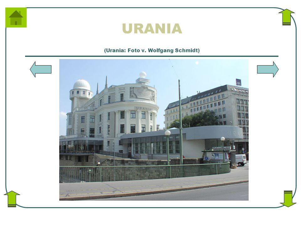 URANIA (Urania: Foto v. Wolfgang Schmidt)