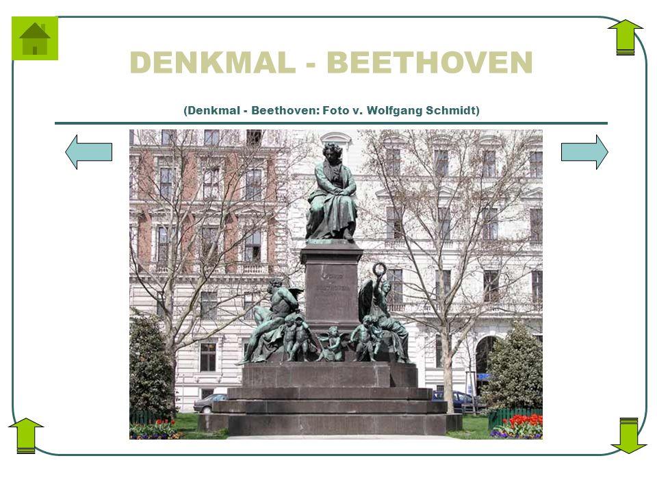 DENKMAL - BEETHOVEN (Denkmal - Beethoven: Foto v. Wolfgang Schmidt)