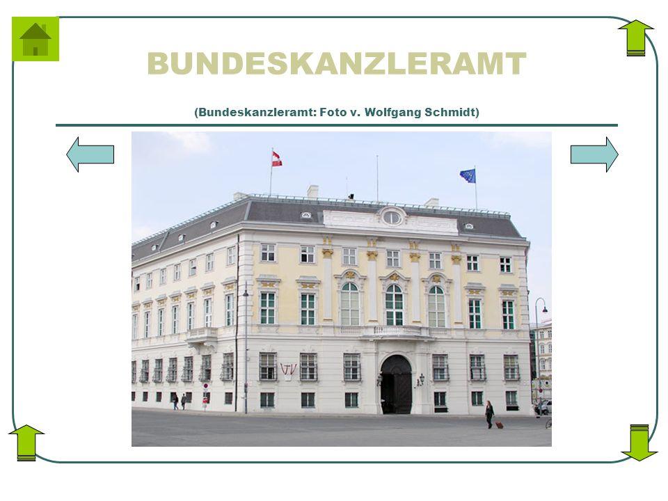 BUNDESKANZLERAMT (Bundeskanzleramt: Foto v. Wolfgang Schmidt)