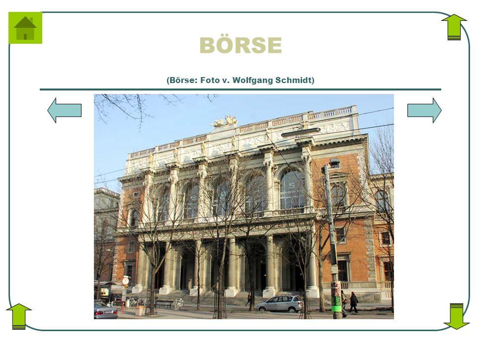 BÖRSE (Börse: Foto v. Wolfgang Schmidt)