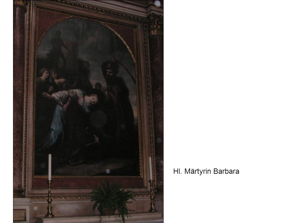 Hl. Märtyrin Barbara