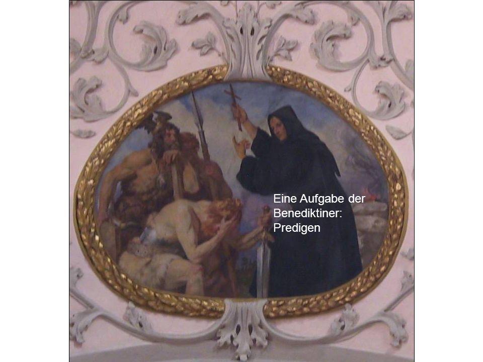 Eine Aufgabe der Benediktiner: Predigen