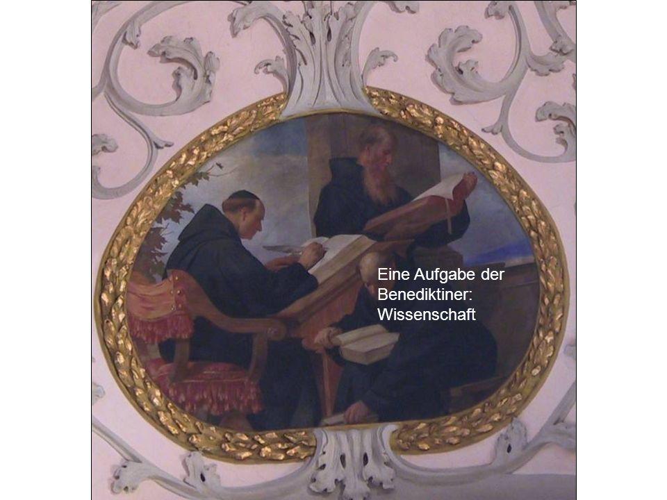 Eine Aufgabe der Benediktiner: Wissenschaft