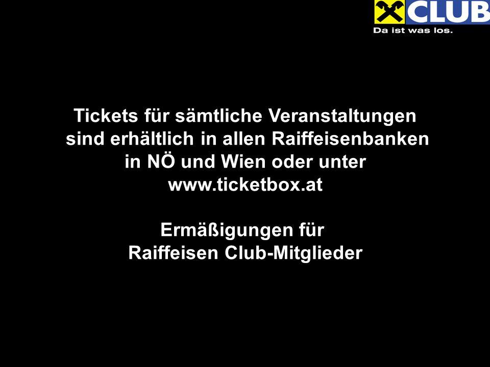 Beatsteaks 04.& 05.03.2011, Gasometer Ermäßigung für alle Raiffeisen Club-Mitglieder.