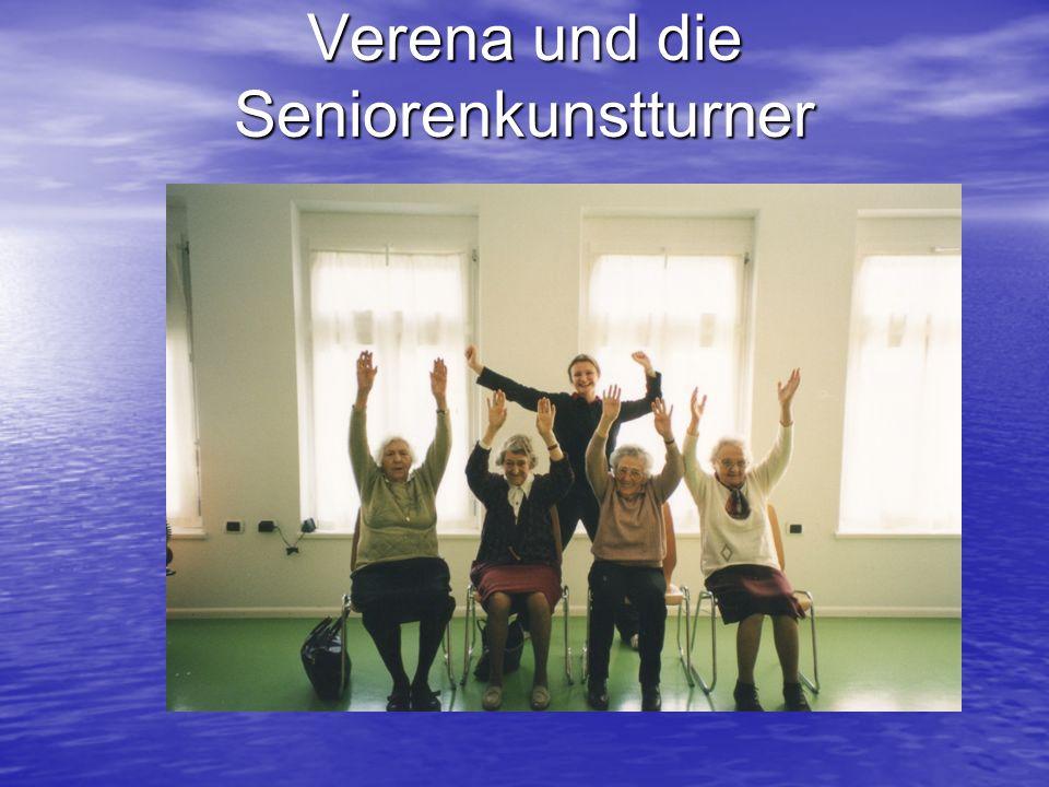 Verena und die Seniorenkunstturner