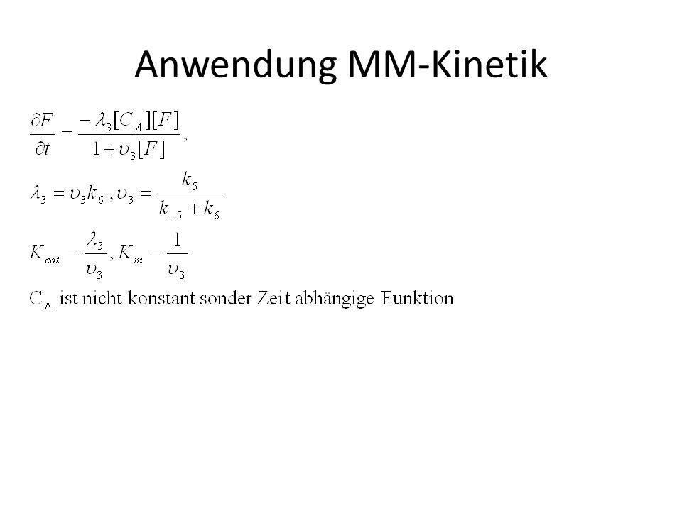 Anwendung MM-Kinetik