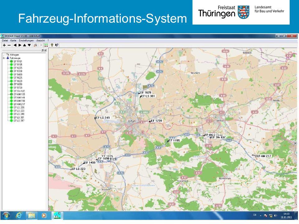 TLBV Abt 4Fachsysmposium Winterdienst 01.10.201315 Fahrzeug-Informations-System