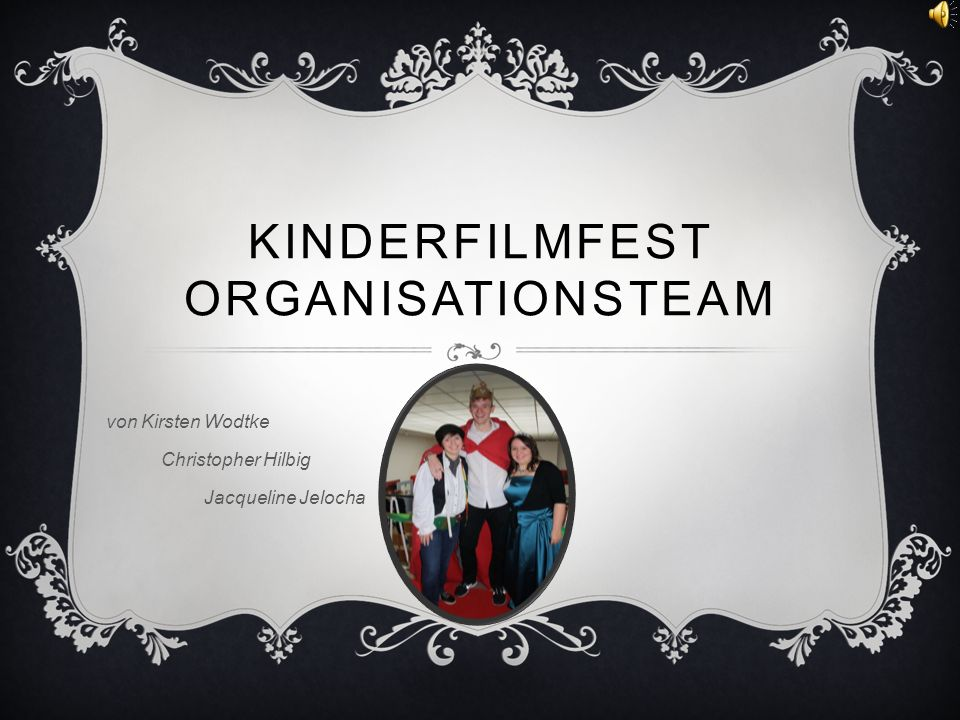 KINDERFILMFEST ORGANISATIONSTEAM von Kirsten Wodtke Christopher Hilbig Jacqueline Jelocha