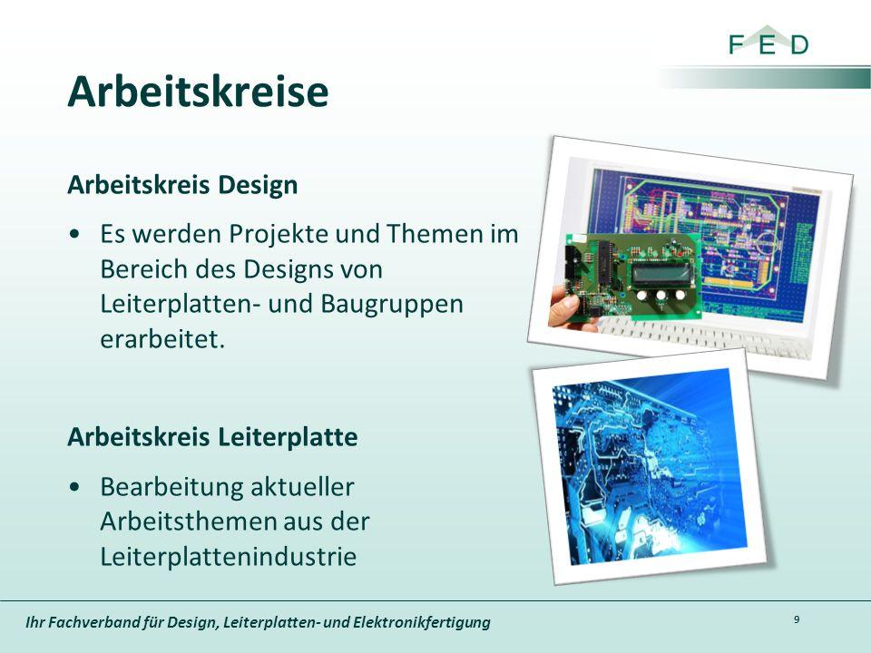 Ihr Fachverband für Design, Leiterplatten- und Elektronikfertigung Arbeitskreise Arbeitskreis Design Es werden Projekte und Themen im Bereich des Desi